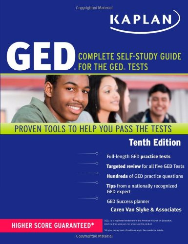 Kaplan GED: Complete Self-Study Guide for the GED Tests: Van Slyke, Caren