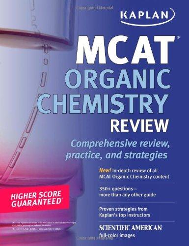 9781607146414: Kaplan MCAT Organic Chemistry Review