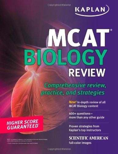 9781607146438: Kaplan MCAT Biology Review