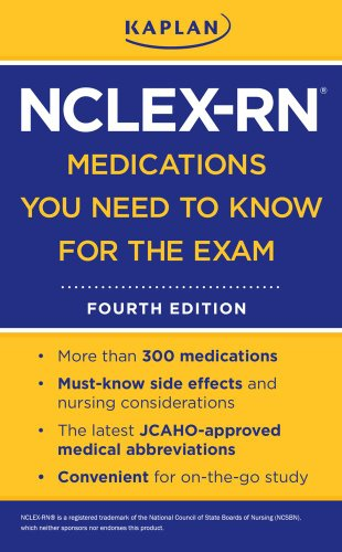 9781607146650: Kaplan NCLEX-RN Medications You Need to Know for the Exam