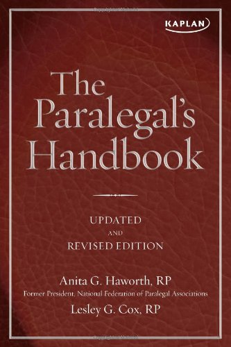 9781607147138: The Paralegal's Handbook
