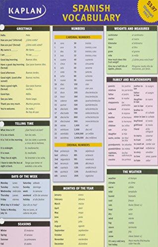 9781607147725: Kaplan Spanish Vocabulary