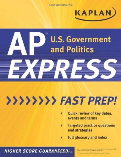 9781607147886: Kaplan AP U.S. Government & Politics Express (Kaplan Test Prep)