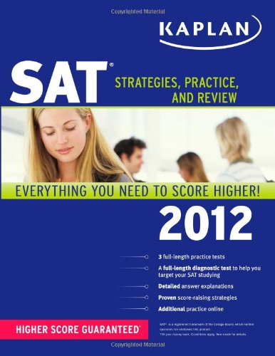 9781607148395: SAT: Strategies, Practice, and Review (2012)