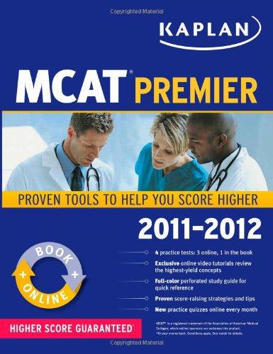 9781607148555: Kaplan MCAT Premier 2011-2012 (Kaplan Mcat Premier Program)