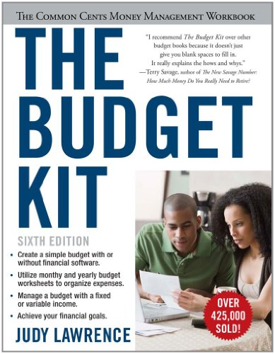 9781607148609: The Budget Kit: The Common Cents Money Management Workbook