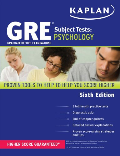 gre subject test psychology kaplan test prep