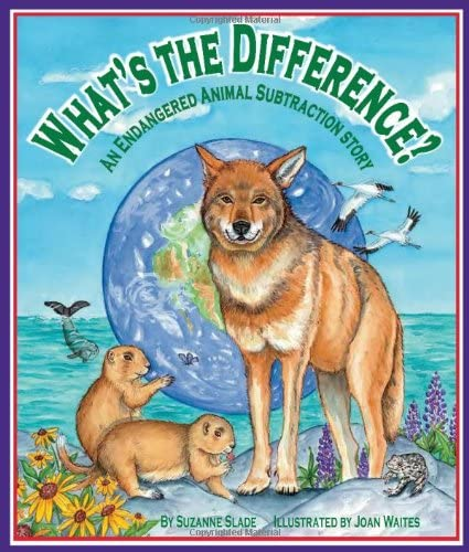 9781607180708: What's the Difference? An Endangered Animal Subtraction Story