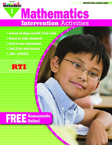Everyday Intervention Activities for Math Grade 1 Book: Robin Gold