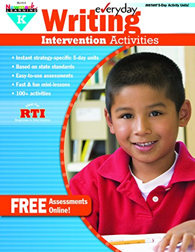 9781607199083: Everyday Intervention Activities for Writing Grade K Book