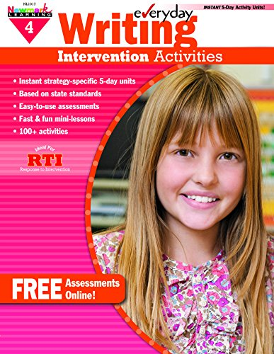 9781607199120: Everyday Intervention Activities for Writing Grade 4 Book