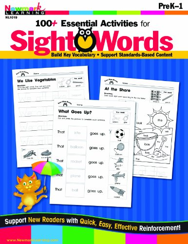 100+ Essential Activities for Sight Words PreK-1: Newmark Learning