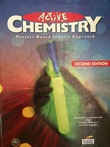 9781607203995: Active Chemistry Project Based Inquiry Approach