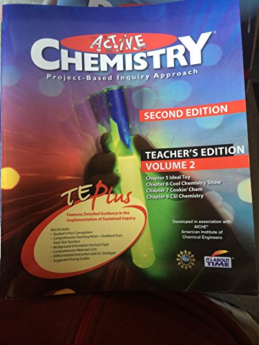 9781607204015: Active Chemistry Project Based Inquiry Approach Teacher Edition (volume 2)