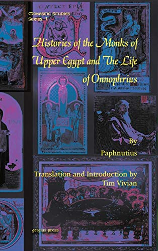 9781607241423: Histories of the Monks of Upper Egypt and The Life of Onnophrius