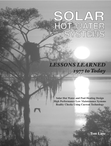 SOLAR HOT WATER SYSTEMS; LESSONS LEARNED 1977 TO TODAY: Lane, Tom