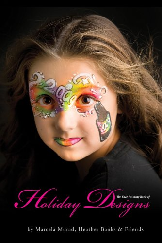 9781607254942: Face Painting Book Of Holiday Designs