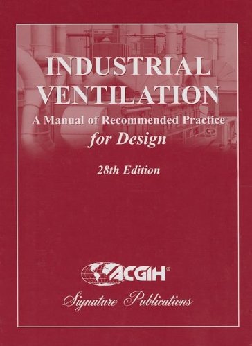 Industrial Ventilation: A Manual of Recommended Practice: ACGIH