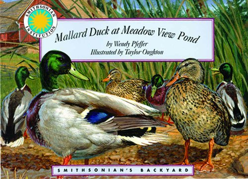 9781607270782: Mallard Duck at Meadow View Pond - a Smithsonian's Backyard Book (with audiobook CD)