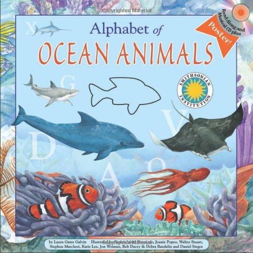 Alphabet of Ocean Animals (Smithsonian Alphabet Book) (with audiobook CD, easy-to-download ...