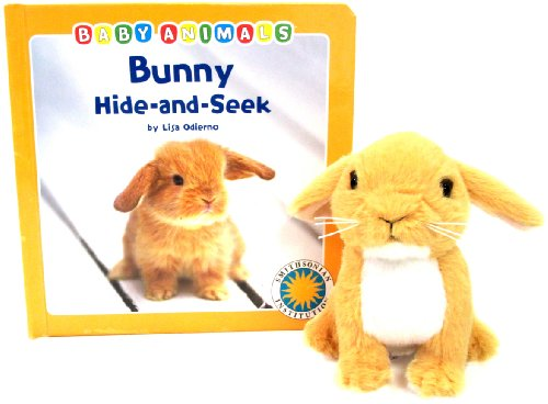 9781607271079: Bunny Hide-and-Seek - a Smithsonian Baby Animals Book (with stuffed toy baby animal)