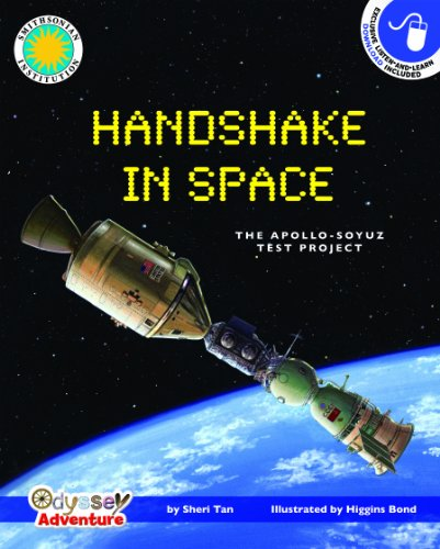 9781607271154: Handshake in Space: The Apollo-Soyuz Test Project - a Smithsonian Odyssey Adventure Book (with easy-to-download audiobook)