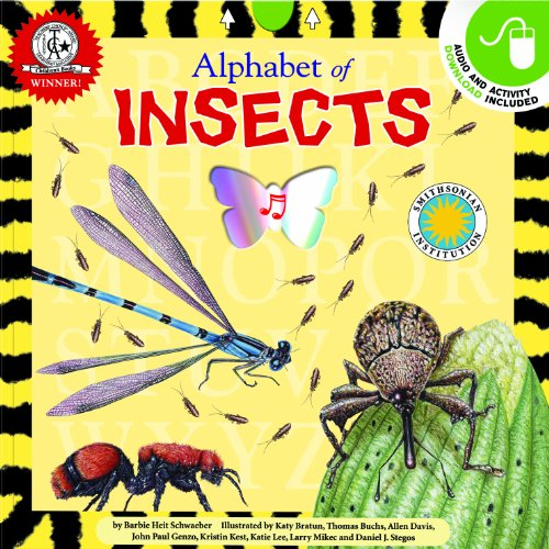 Alphabet of Insects - A Smithsonian Alphabet Book (with audiobook CD, easy-to-download audiobook, ...