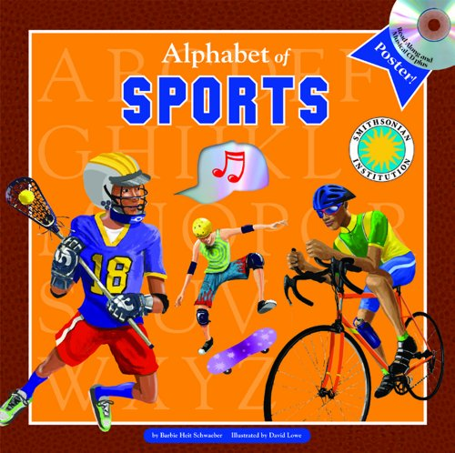 Alphabet of Sports - A Smithsonian Alphabet Book (with audiobook CD, easy-to-download audiobook, ...