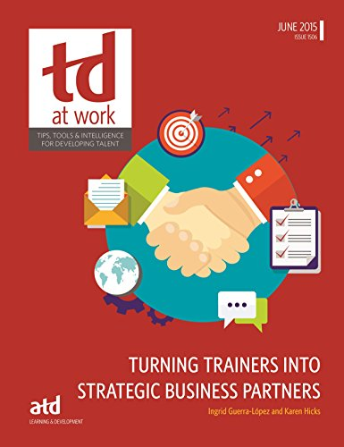 Turning Trainers into Strategic Business Partners (Paperback): Ingrid J. Guerra-Lopez,