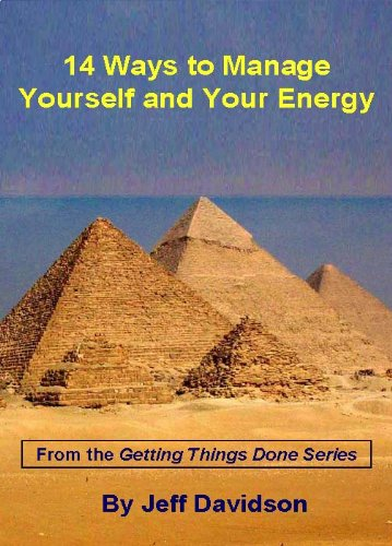 9781607292616: 14 Ways to Manage Yourself and Your Energy