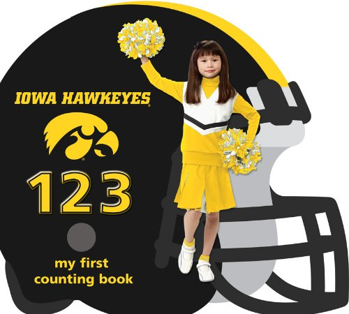 9781607300229: University of Iowa Hawkeyes 123: My First Counting Book (University 123 Counting Books) (My First Counting Books (Michaelson Entertainment))