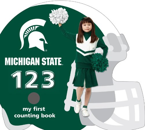 9781607300250: Michigan State University Spartans 123: My First Counting Book (University 123 Counting Books)