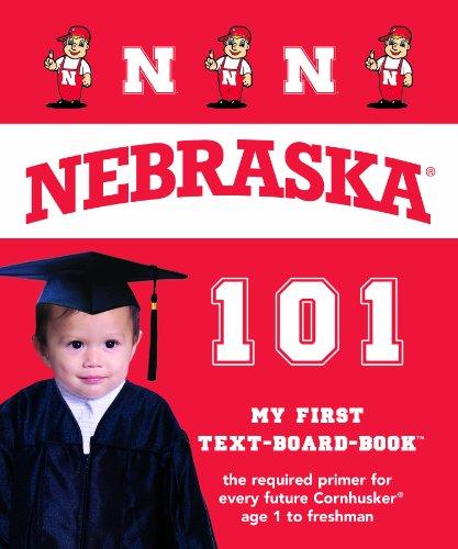 9781607300632: University of Nebraska Huskers 101 (My First Text-Board Book)