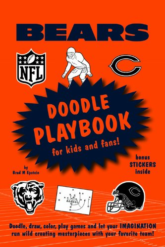 9781607303053: Chicago Bears Doodle Playbook: For Kids and Fans! (NFL Doodle Playbooks)