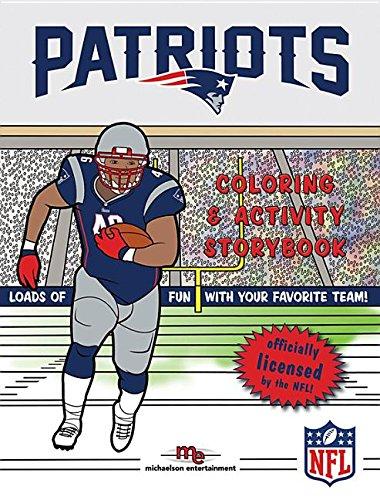 New England Patriots Coloring & Activity Storybook