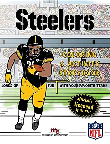 Pittsburgh Steelers Coloring & Activity Storybook