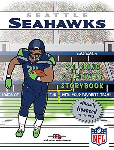 9781607305286: Seattle Seahawks Coloring & Activity Storybook