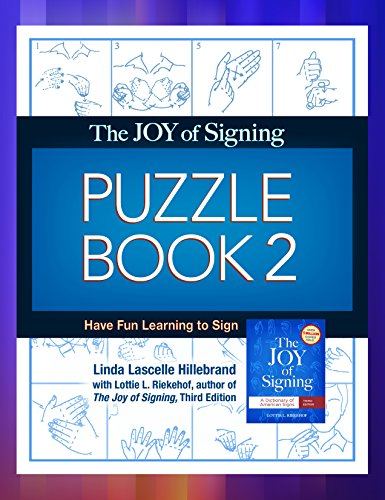 9781607313809: Joy of Signing Puzzle Book 2