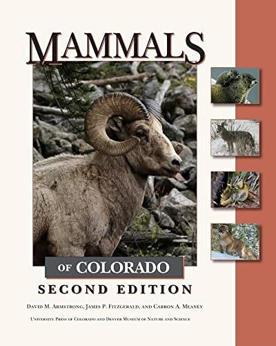 9781607320470: Mammals of Colorado, Second Edition
