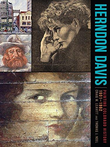 9781607324195: Herndon Davis: Painting Colorado History, 1901–1962