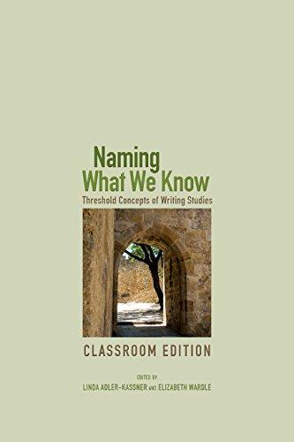 Naming What We Know Format: Paperback