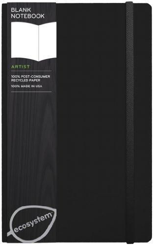 9781607360612: Ecosystem Journal Blank: Medium Onyx Hardcover