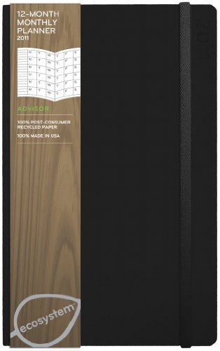 ecosystem Planner 12-Month Monthly 2011: Medium Onyx Flexicover (ecosystem Series)