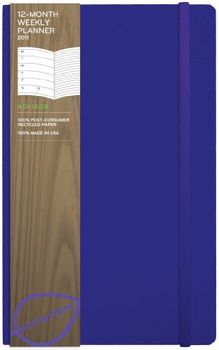 9781607364009: ecosystem Planner 12-Month Weekly 2011: Medium Grape Flexicover (ecosystem Series)