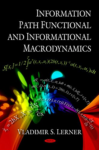 9781607411390: Information Path Functional and Informational Macrodynamics