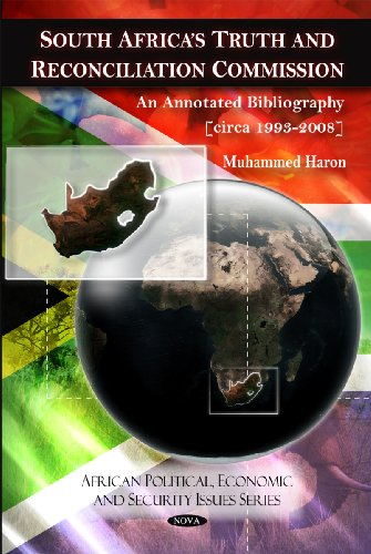 9781607412298: South Africa's Truth and Reconciliation Commission: An Annotated Bibliography [Circa 1993-2008] (African Political, Economic, and Security Issues)