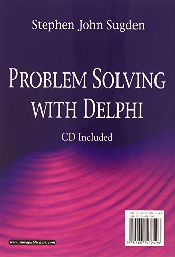 9781607412496: Problem Solving in Delphi (Computer Science, Technology and Applications)