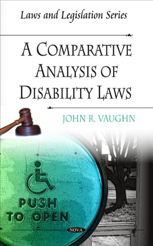 A Comparative Analysis of Disability Laws (Laws: John R. Vaughn