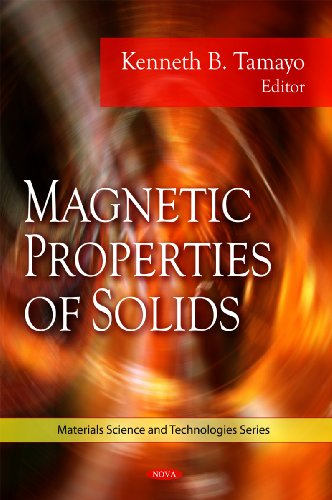 9781607415503: Magnetic Properties of Solids (Material Science and Technologies)