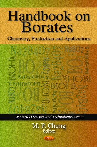 9781607418221: Handbook on Borates: Chemistry, Production and Applications (Materials Science and Technologies)